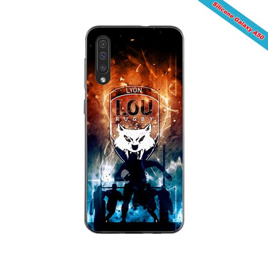 Coque silicone Iphone 11 PRO verre trempé Fan de Ligue 1 Amiens splatter
