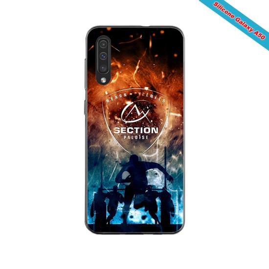 Coque silicone Iphone 11 PRO verre trempé Fan de Ligue 1 St-Etienne cosmic