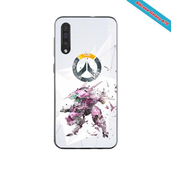 Coque silicone Iphone 11 PRO verre trempé Fan de Rugby Racing 92 fury
