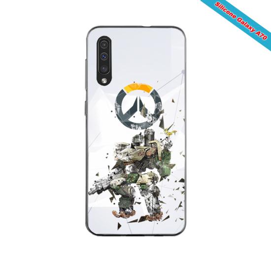 Coque silicone Iphone 11 PRO verre trempé Fan de Rugby Clermont fury