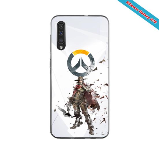 Coque silicone Iphone 11 PRO verre trempé Fan de Rugby Agen fury