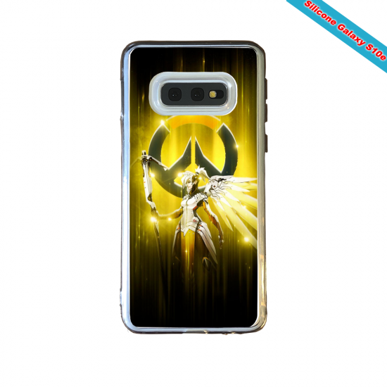 Coque silicone Galaxy J3 2016 Fan de Ligue 1 Strasbourg splatter