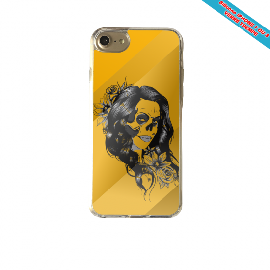 Coque Galaxy S7 Fan de Chicago Bulls skull