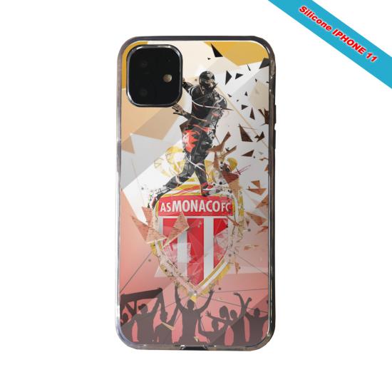 Coque silicone Galaxy J4 CORE Fan de Ligue 1 Toulouse splatter