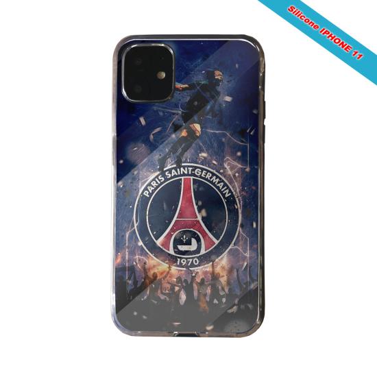 Coque silicone Galaxy J4 CORE Fan de Ligue 1 Amiens splatter