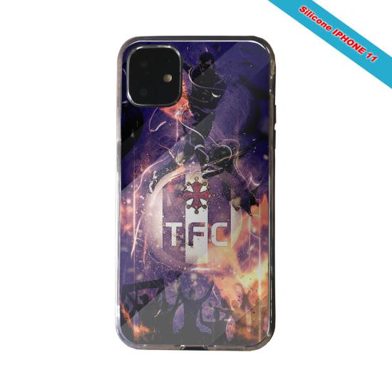 Coque silicone Galaxy J4 CORE Fan de Ligue 1 Reims cosmic