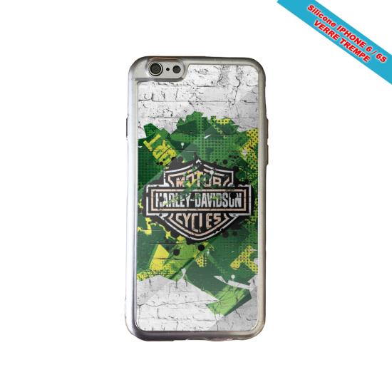 Coque Galaxy Note 4 skull tribal croix