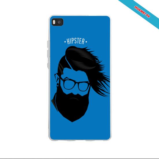 Coque iphone SE skull tribal croix