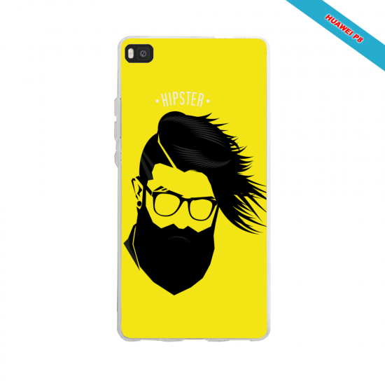 Coque iphone 5C skull tribal croix