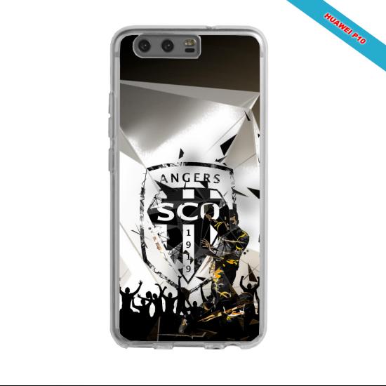 Coque silicone Galaxy J5 2016 Fan de Ligue 1 Rennes splatter