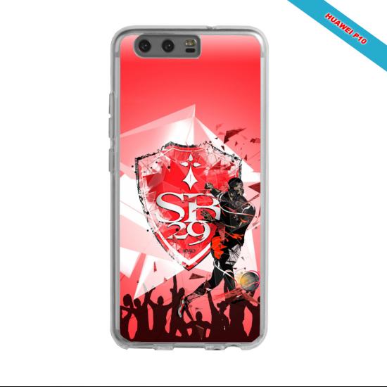 Coque silicone Galaxy J5 2016 Fan de Ligue 1 Reims splatter