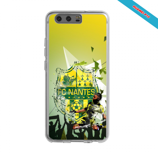 Coque silicone Galaxy J5 2016 Fan de Ligue 1 Nantes splatter