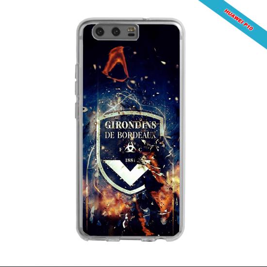 Coque silicone Galaxy J5 2016 Fan de Ligue 1 Lyon splatter