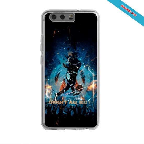 Coque silicone Galaxy J5 2016 Fan de Ligue 1 Angers splatter