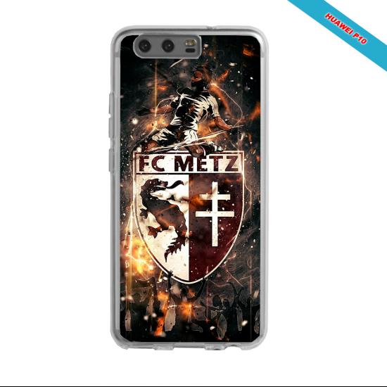 Coque silicone Galaxy J5 2016 Fan de Ligue 1 Amiens splatter