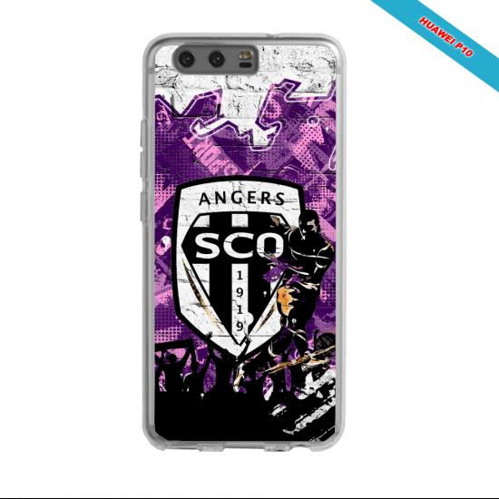 Coque silicone Galaxy J5 2016 Fan de Ligue 1 Nimes cosmic