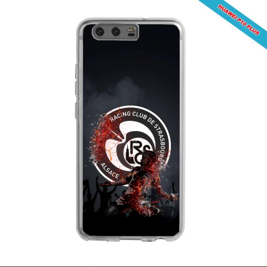 Coque silicone Galaxy J6 Fan de Ligue 1 St-Etienne splatter