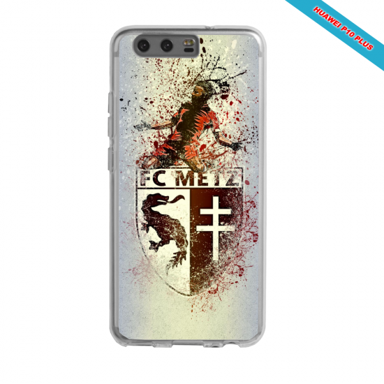 Coque silicone Galaxy J6 Ligue 1 lille LOSC smoke