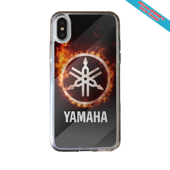 Coque silicone Galaxy J6 Fan de Rugby Racing 92 fury