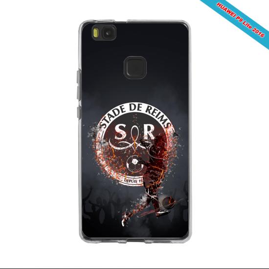 Coque silicone Galaxy J6 PLUS Fan de Ligue 1 Brest splatter