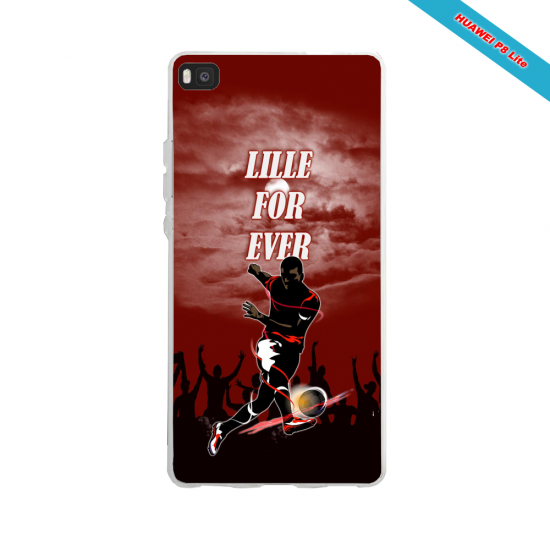 Coque silicone Huawei P30 PRO Fan d'Overwatch Fatale super hero