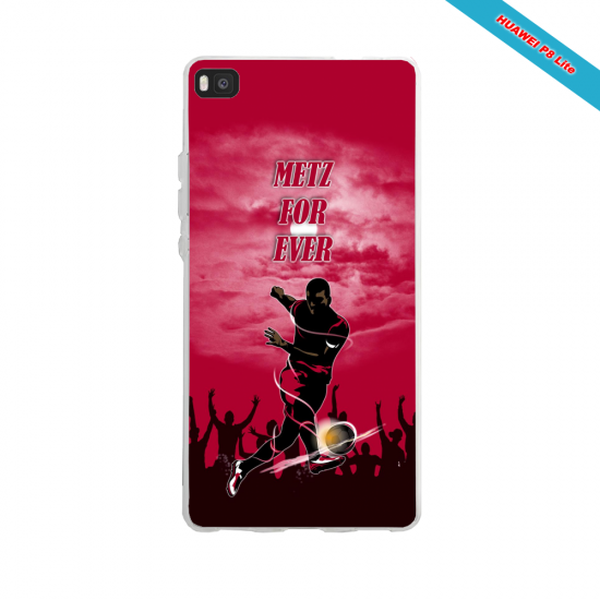 Coque silicone Huawei P30 PRO Fan d'Overwatch Chacal super hero