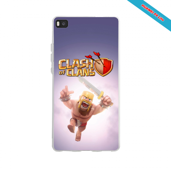 Coque silicone Huawei P30 PRO Fan de Rugby Clermont fury