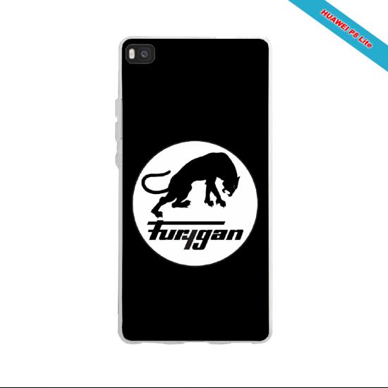Coque silicone Huawei P30 PRO Panda avec des coeurs