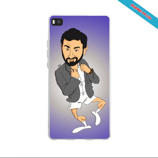 Coque silicone Huawei P30 PRO Fan de Ligue 1 Rennes splatter