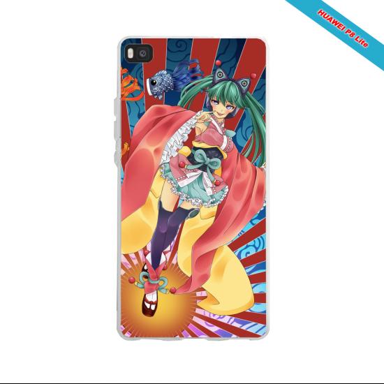 Coque silicone Huawei P30 PRO Fan de Ligue 1 Nantes splatter