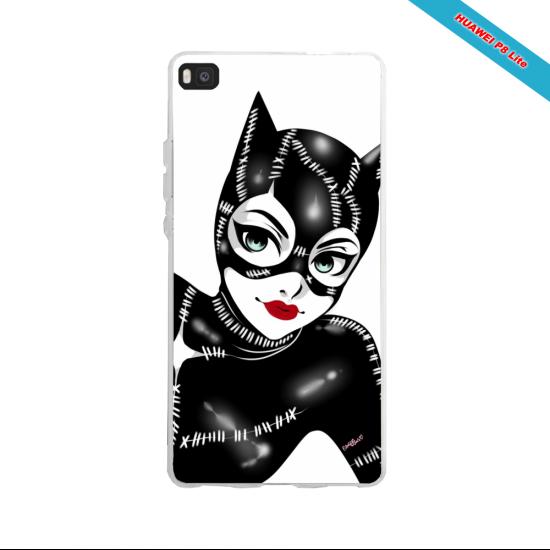 Coque silicone Huawei P30 PRO Fan de Ligue 1 Montpellier splatter