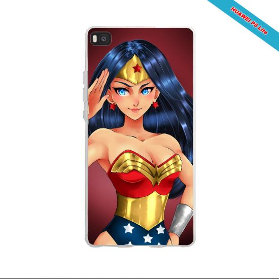 Coque silicone Huawei P30 PRO Fan de Ligue 1 Monaco splatter