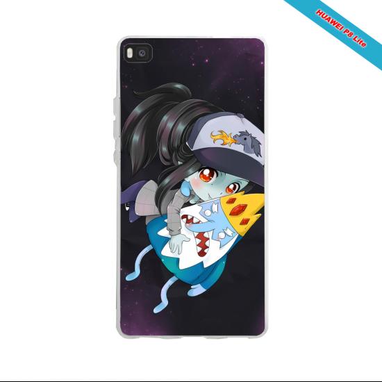Coque silicone Huawei P30 PRO Fan de Ligue 1 Marseille splatter