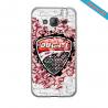 Coque iphone 5/5S Fan de HD version Graffiti