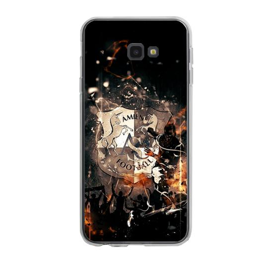 Coque silicone Iphone 6/6S PLUS verre trempé Fan de Ligue 1 Rennes splatter