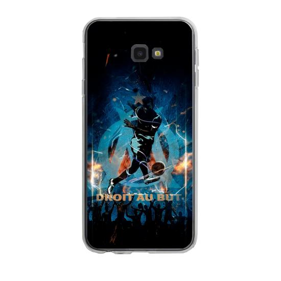 Coque silicone Iphone 6/6S PLUS verre trempé Fan de Ligue 1 Monaco splatter