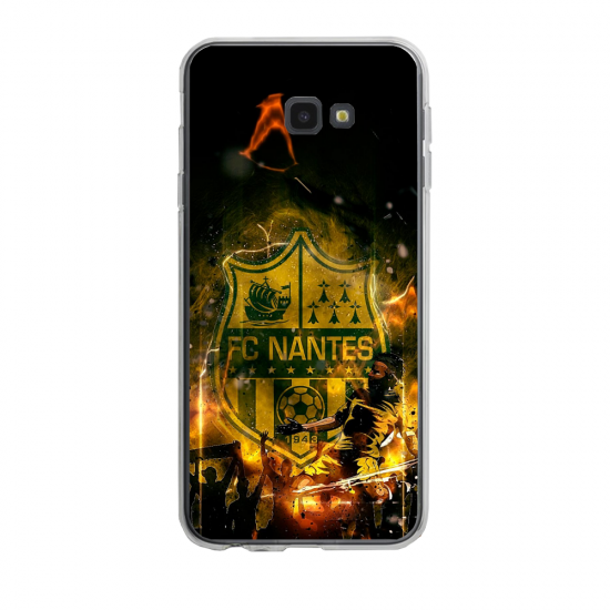 Coque silicone Iphone 6/6S PLUS verre trempé Fan de Ligue 1 Lille splatter