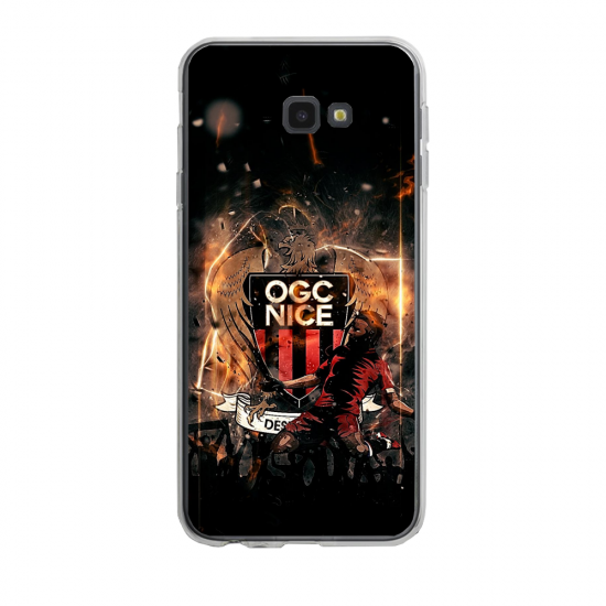 Coque silicone Iphone 6/6S PLUS verre trempé Fan de Ligue 1 Dijon splatter