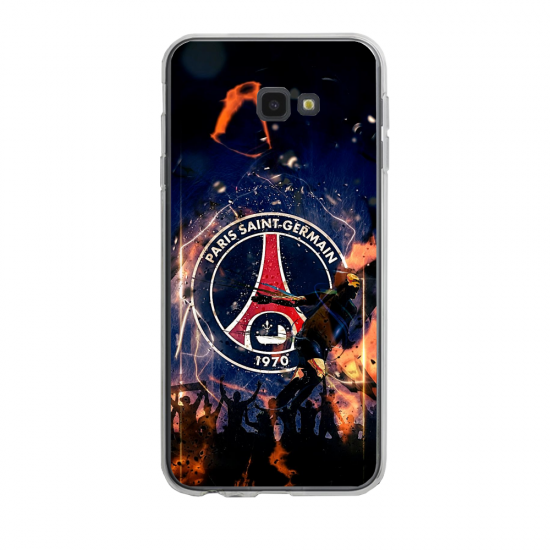 Coque silicone Iphone 6/6S PLUS verre trempé Fan de Ligue 1 Bordeaux splatter