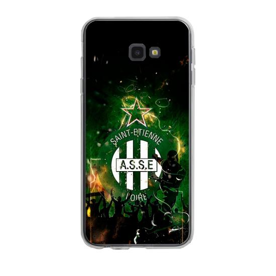 Coque silicone Iphone 6/6S PLUS verre trempé Fan de Ligue 1 Toulouse cosmic
