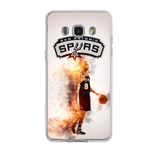 Coque silicone Iphone 7/8 PLUS verre trempé Fan de Ligue 1 Toulouse splatter