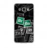 Coque silicone Iphone 7/8 PLUS verre trempé Fan de Ligue 1 Angers splatter