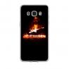 Coque silicone Iphone 7/8 PLUS verre trempé Fan de Ligue 1 Toulouse cosmic