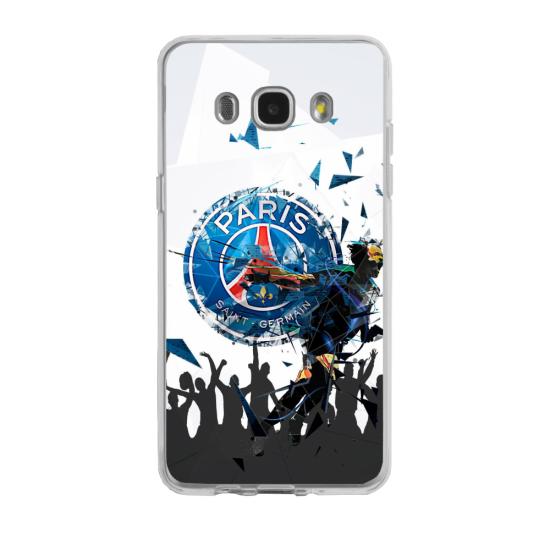 Coque silicone Iphone 7/8 PLUS verre trempé Fan de Rugby Agen fury