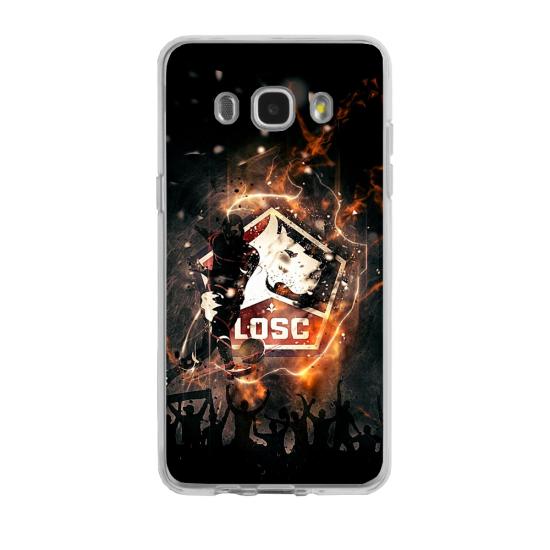 Coque silicone Iphone 7/8 PLUS verre trempé Fan de Rugby Toulon fury
