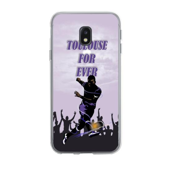 Coque silicone Huawei P20 Lite 2019 Fan de Ligue 1 Montpellier splatter