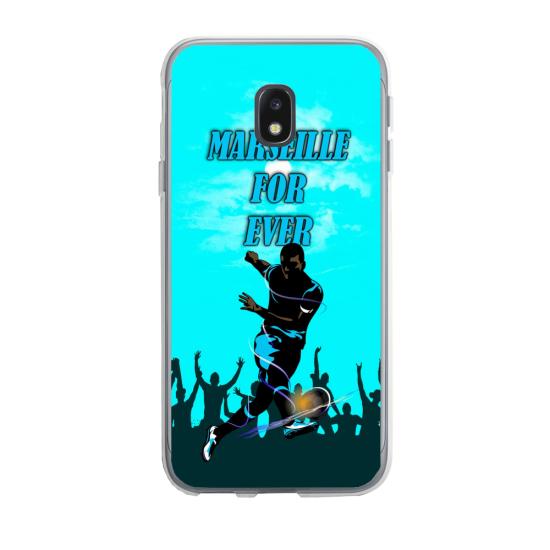 Coque silicone Huawei P20 Lite 2019 Fan de Ligue 1 Monaco splatter