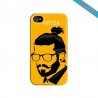 Coque iphone 6/6S Hipster coupe fun