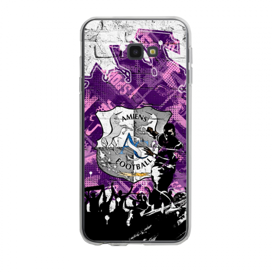 Coque silicone Iphone SE 2020 verre trempé Fan de Sangoku géometric