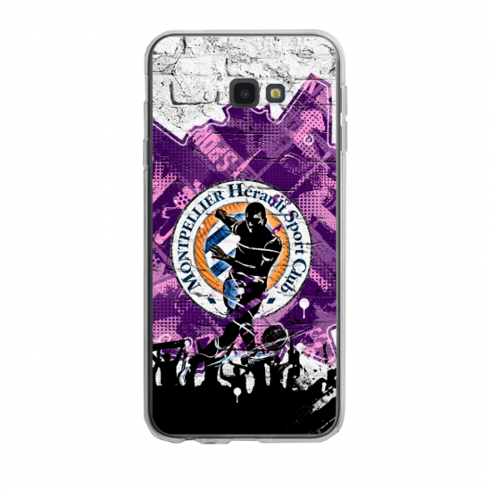 Coque silicone Iphone SE 2020 verre trempé Fan de Ligue 1 Nantes splatter